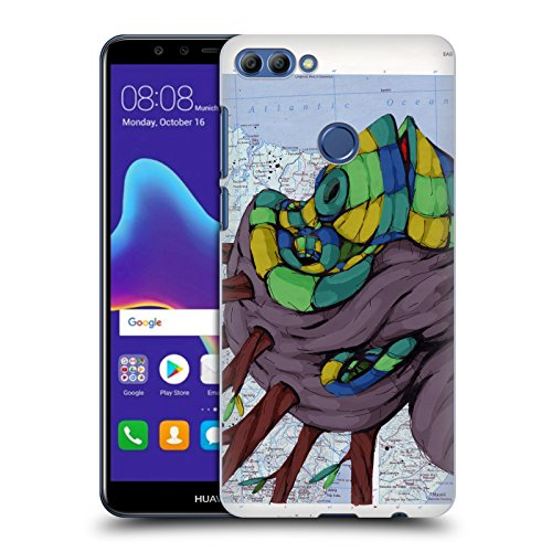 Head Case Designs Offizielle RIC Stultz Neugeist-Bewegung Tiere Ruckseite Hülle für Huawei Y9 (2018)/Enjoy 8 Plus