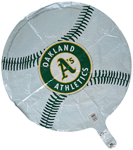 Anagram International Oakland Athletics Paket Party Luftballons, 45,7cm Multicolor - Oakland Athletics Design