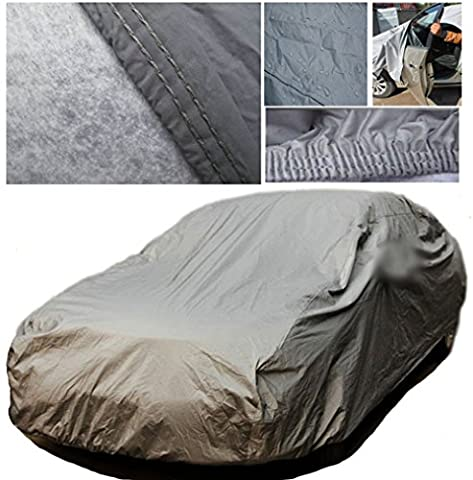 A-Express® Extra Large XL Heavy Duty 100% Waterproof Breathable Full Car Cover