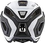 Alpina Unisex Rootage Rennrad-Helm, White/Carbon, 53-58