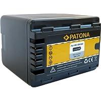 Bundlestar Batterie de qualité pour Panasonic VW VBK360 E K avec puce info Système de recharge intelligent 100 % compatible avec la nouvelle génération de Panasonic HDC HS60 HS80 SD40 SD60 SD66 SD80 SD90 SD99 SDX1 TM40 TM55 TM60 TM80 TM90 / SDR H85 H95 H100 H101 S45 S50 S70 S71 T50 T55 T70 T71 T76 / HC V707 V500 V100 V10 (attention ne convient pas aux modèles VBT190/VBT380)