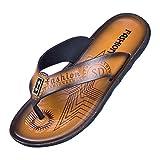 Dtuta Herren Flip Clogs String Sandalen, Unisex-Erwachsene Zehentrenner Surfen Zehentrenner Sports Sandalen Beach/Pool Pantoffeln Islander Gecko große Damenschuhe