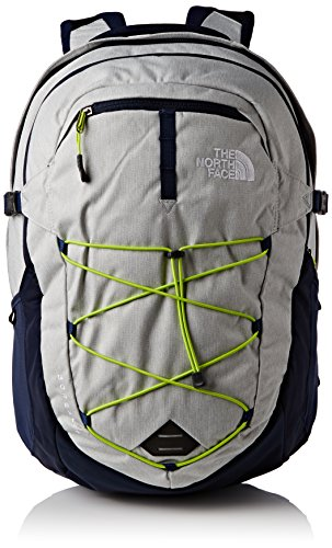 the-north-face-unisex-rucksack-borealis-high-rise-grey-heather-lantern-green-31-x-33-cm-31-liters-ch