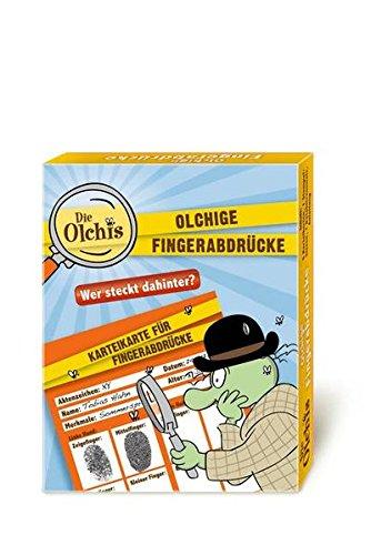 Preisvergleich Produktbild Die Olchis Set Olchige Fingerabdrücke