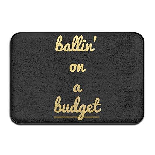 Aeykis Ballin On A Budget Boys Doormats Nice Outdoor Doormats for Front Door (L23.6