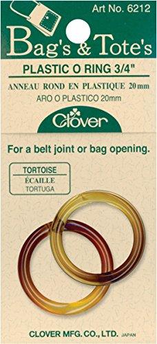 Clover O-ring di plastica 20mm, Turtle
