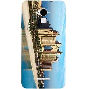 Casotec Atlantis Dubai Design Hard Back Case Cover for Coolpad Note 3