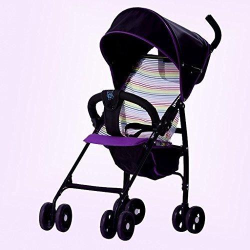 &Baby Kinderwagen Faltbare Kinderwagen Regenschirm Auto Baby Cart Lite leichte Taschenschirm Auto