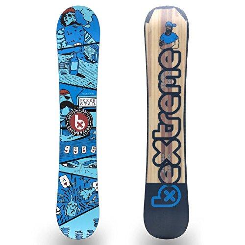 Tabla Snowboard Poker Star BeXtreme 201 152cm