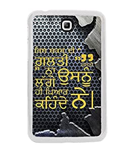 ifasho Designer Back Case Cover for Samsung Galaxy Tab 3 (8.0 Inches) T310 T311 T315 LTE (Familial Kind)