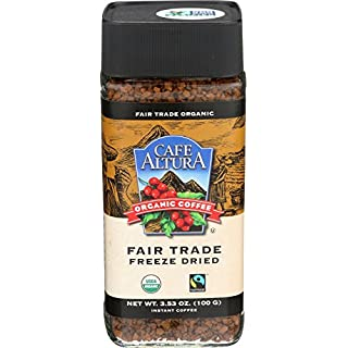 Cafe Altura Organic Fair Trade Instant Coffee, Pack of 1 by Cafe Altura