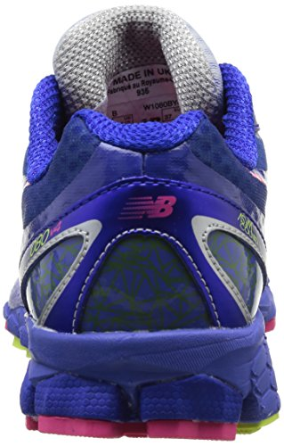 New Balance W1080 Damen Laufschuhe Blau (BY4 BLUE/YELLOW)
