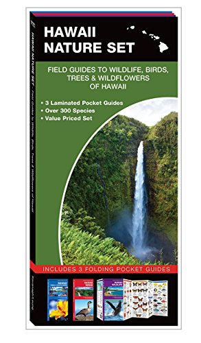 Hawaii Nature Set: Field Guides to Wildlife, Birds, Trees & Wildflowers of Hawaii (Pocket Naturalist Guide)