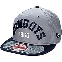 New Era Mens 9Fifty Arch Dallas Cowboys Cap in Navy Grey-Snap Back-Interchangeable Snap Back
