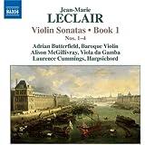 Leclair: Violin Sonatas Book 1, Vol.1 (Nos. 1-4)