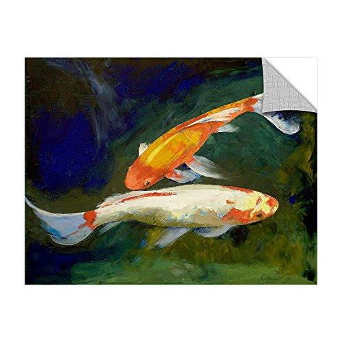 wall-art ARTWall Kunstdruck auf Leinwand Michael Creese Feng Shui Koi Fische Art appeelz abnehmbarem Art Wand Graphic, - Feng-shui Fisch Koi