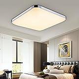 VINGO 24W LED Deckenleuchte Warmweiß 2700-3200K Deckenbeleuchtung Markantes Design