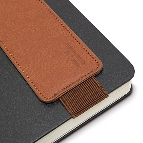 Bookaroo Book Pen Pouch Cover Colour Brown for Student, Novel, Story Writer, Boys, Girls, Men, Women, The Awesome Item