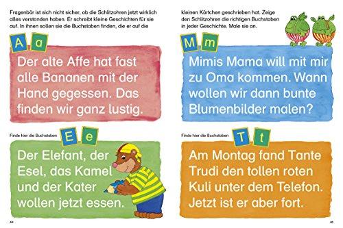 Fragenbär Vorschule: Buchstabenspiele und erstes Schreiben (Lerne mehr mit Fragenbär) - 10