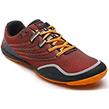 AZANI Rapid Racer Minimal Running Shoes | Barefoot Trail and Road Running Shoe - Fitness, Athletic Zero Drop Sneaker-Red