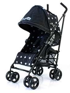 Zeta Vooom Stroller (Black Dots)