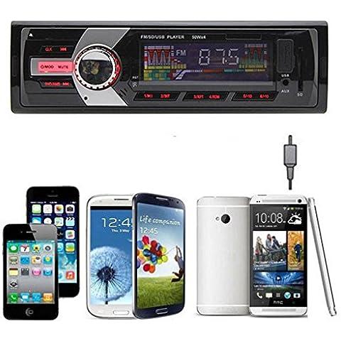 Internet Radio estéreo del coche en el tablero de receptor de entrada de MP3 / FM / USB / SD / AUX 6243