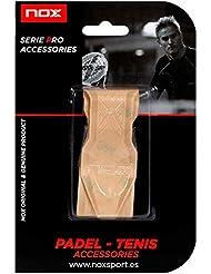 NOX Protector de Marco de Pala de Padel Transparente con Relieve, Deportes, 3,5x12,18cm