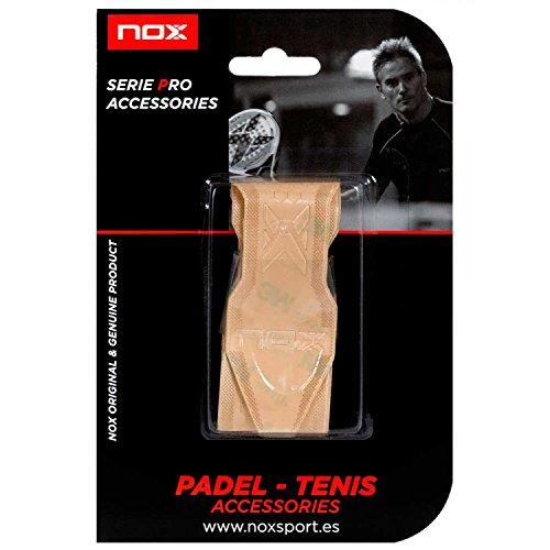 NOX Transparente Protector de Marco de Pala de Padel Relieve, Deportes, 3,5x12,18c
