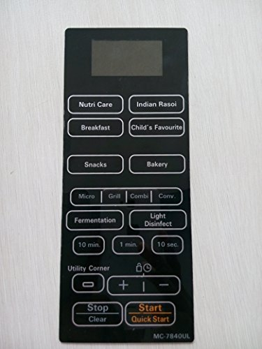 Able Model No -MC-7840UL Microwave Oven Membrane Keypad