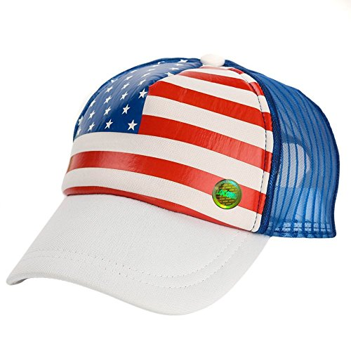 locomo-kid-us-usa-country-flag-mesh-back-snapback-baseball-cap-fbh021wht