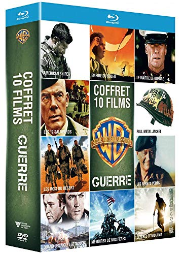 Coffret guerre 10 films [Blu-ray] [FR Import]