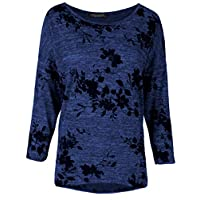 Emma & Giovanni - T-shirt/pullover 3/4 mouwen voor alle seizoenen (Made in Italy) - dames