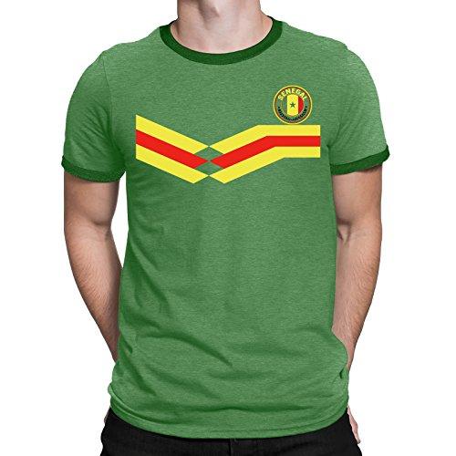 Tee Spirit Senegal Camiseta Para Hombre World Cup