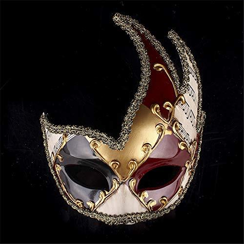 LYFWL Halloween-Maske Maskerade-Masken-Weihnachtsfeiertags-Party-Masken-Halloween-Party-Proof Show Alt Maske-End Party Supplies -