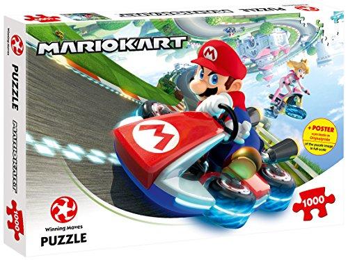 Preisvergleich Produktbild Winning Moves 11118 - Puzzle Mario Kart - Funracer, 1000 Stück