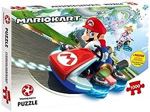 Winning Moves Mario Kart Puzzle - Rompecabezas (Puzzle Rompecabezas, Videojuego, Niños y Adultos, Super Mario, 14 año(s), Interior)