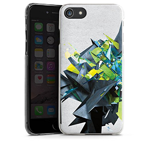 Apple iPhone X Silikon Hülle Case Schutzhülle Kristalle Explosion Glas Hard Case transparent