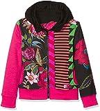 Desigual Mädchen Sweatshirt Sweat_BOCACCIO, Schwarz (Negro 2000), 128 (Herstellergröße: 7/8)