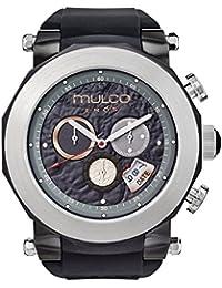 amazon co uk mulco watches mulco eros mw3 14027 024 black band swiss quartz watch
