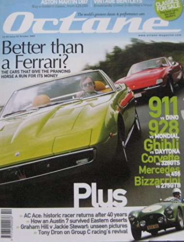 octane-magazine-back-issue-10-2007-no-52-ferrari-porsche-maserati-bizzarrini-ac-ace-aston-martin