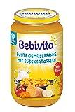 Bebivita Menüs ab 12. Monat Bunte Gemüsepfanne mit Süßkartoffeln, 250 g