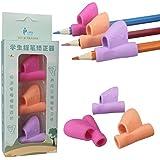 3piezas/set nueva niños lápiz Holder, honestyi bolígrafo escritura ayuda agarre postura corrección herramienta nueva, silicona, un