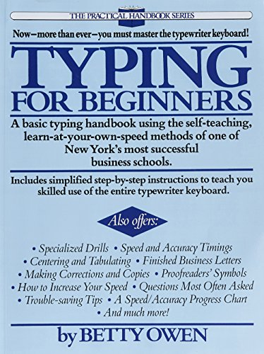 Typing for Beginners (Practical Handbook (Perigee Book))