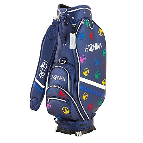 "Honma Golf Japan CB-1816 Caddy Bag (Marineblau) 2018 Model (Marineblau) - Modell 2018\"" - - Model ((Navy) -)"