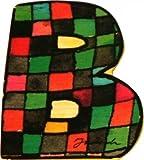 Janosch Holzbuchstabe B farblich sortiert