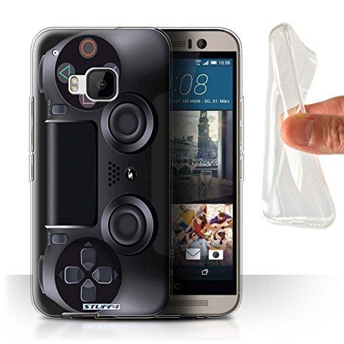 Stuff4 Gel TPU Hülle / Case für HTC One M9+/Plus / Playstation PS4 Muster / Spielkonsolen Kollektion