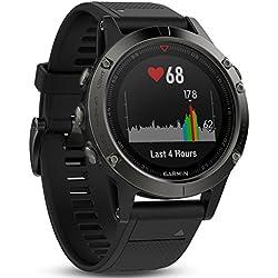 Garmin fēnix 5 GPS-Multisport-Smartwatch - Herzfrequenzmessung am Handgelenk, Sport- & Navigationsfunktionen Garmin