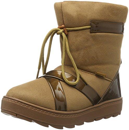 flip*flop Cross Boot, Bottes mi-hauteur avec doublure chaude femme Marron - Braun (Brown sugar 833)