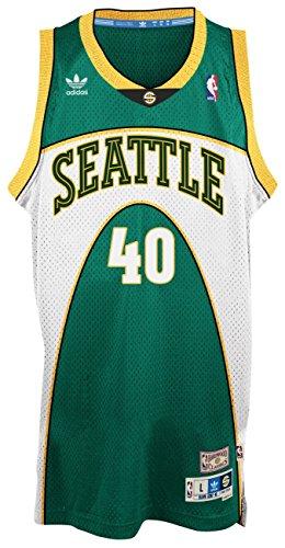 adidas Shawn Kemp Seattle Supersonics NBA Throwback Swingman Green Maillot