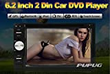 Pupug Hot Sale de Windows OS 6.2 '' 2 Din voiture